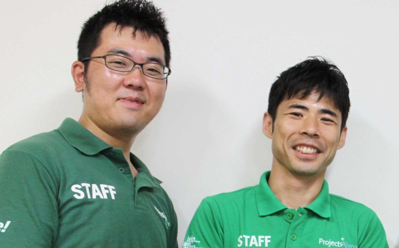 日本支店のプロジェクトアブロードスタッフ